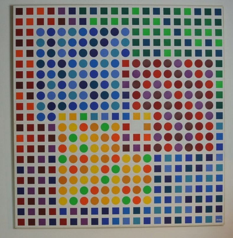 Victor VASARELY Orion Blanc